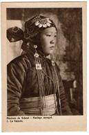 Mongolie - Mariage Mongol - La Fiancée  - 2 Scans - Mongolie