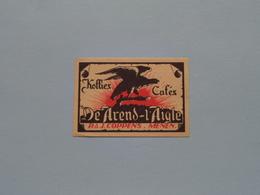DE AREND - L'Aigle > Etiketten / Etiquettes De Collectionneur / Verzamelaar De Regio > MENIN / MENEN > Detail Zie Foto ! - Autres