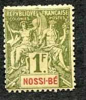 Colonie Française, Nossi-Bé N°39 ; Faux Fournier - Nossi-Bé (1889-1901)