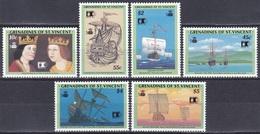 St. Vincent Grenadinen Grenadines 1992 Entdeckungen Discovery Kolumbus Columbus Schiffe Ships COLUMBIAN, Mi. 877-2 ** - St.Vincent & Grenadines