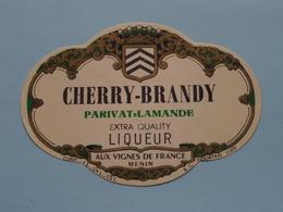 CHERRY - BRANDY > Etiketten / Etiquettes De Collectionneur / Verzamelaar De Regio > MENIN / MENEN > Detail Zie Foto ! - Autres