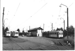 Brasschaat - Polygoon Statie - Trams. - Non Classés
