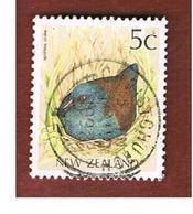 NUOVA ZELANDA (NEW ZEALAND) - SG 1459a -  1991 NATIVE BIRDS: SPOTLESS CRAKE -  USED° - Nuova Zelanda
