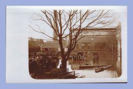Carte Photo - Inondations 1910 - Paris 15e (75) - 03. Sté L'Eclairage Electrique - Rues Lecourbe / Leblanc - Inondations De 1910