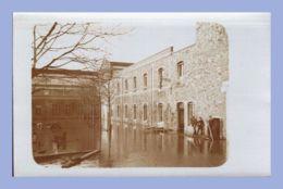 Carte Photo - Inondations 1910 - Paris 15e (75) - 05. Sté L'Eclairage Electrique - Rues Lecourbe / Leblanc - Inondations De 1910