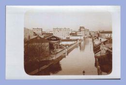 Carte Photo - Inondations 1910 - Paris 15e (75) - 06. Sté L'Eclairage Electrique - Rues Lecourbe / Leblanc - Inondations De 1910
