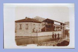 Carte Photo - Inondations 1910 - Paris 15e (75) - 07. Sté L'Eclairage Electrique - Rues Lecourbe / Leblanc - Inondations De 1910