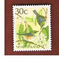 NUOVA ZELANDA (NEW ZEALAND) - SG 1462 -  1988 NATIVE BIRDS: SILVEREYE   -  USED° - Nuova Zelanda