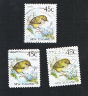 NUOVA ZELANDA (NEW ZEALAND) - SG 1589a -  1991 NATIVE BIRDS: ROCKWREN   -  USED° - Nuova Zelanda