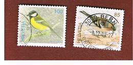 SVIZZERA (SWITZERLAND) -   SG 1671.1673 -    2007  BIRDS  - USED - Svizzera