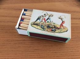 """Boîte D'allumettes Format Type 122 (8x5,5x2,4cm) Série BICENTENAIRE De La REVOLUTION FRANCAISE """"Nuit Du 4 Aout..."""" - Boites D'allumettes"""