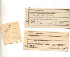 Recepisse Envoi Telegramme - [7] République Fédérale