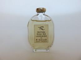 R Friction Eau De Lavande - Rigaud - Miniatures Modernes (à Partir De 1961)
