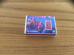 Boîte D'allumettes SEITA Type 301 L'instant PASSION (ROWEL FOVEA WALLIS FOVEA) N°7 - Boites D'allumettes