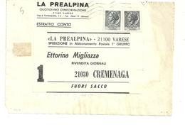 QUOTIDIANI  LA  PREALPINA    1976  VARESE  X  CREMENAGA - Italia