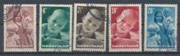 Nederland/Netherlands/Pays Bas/Niederlande/Paesi Bassi 1947 Mi: 495-499 Yt: 483-487 Nvph: 495-499 (Gebr/used/obl/o)4334) - Periode 1891-1948 (Wilhelmina)