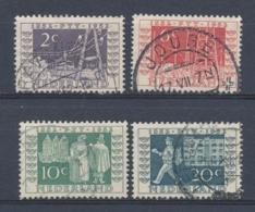 Nederland/Netherlands/Pays Bas/Niederlande/Paesi Bassi 1952 Mi: 593-596 Yt: 574-577 Nvph: 588-591 (Gebr/used/obl/o)4337) - 1949-1980 (Juliana)