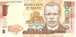 Malawi  P-66  500  Kwacha  2014  UNC - Malawi