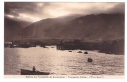 CHILI - TOCOPILLA Bahia De Tocopilla Al Amanecer (carte Photo) - Chili