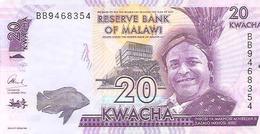 Malawi  P-63c  20  Kwacha  2016  UNC - Malawi