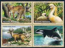 Nations Unies (Vienne) - Protection De La Nature  : Espèces Animales Menacées D'extinction 319/322 (année 2000) ** - Stamps