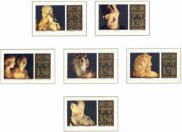 Vaticano. 1977. Mi 705 / 710. Classical Sculptures In Vatican Museums - Vaticano (Ciudad Del)