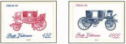 Vaticano. 1985. Mi 880 / 81. Italia '85. Coaches - Vaticano (Ciudad Del)