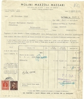 MOLINI  MARZOLI  MASSARI--  VARESE  X LUINO  1946 - Italia