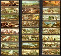 Vitolphilie. Lot De 24 Bagues De Cigares Mercator. Les Batailles De Napoléon. Série Complète. - Cigar Bands