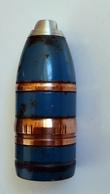 Obus De 37mm Subcaliber Norvégien Pour 10,5cm SK/C 32 - Militaria