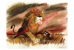 The Lion King 1994 - Visual Development By Vance Gerry - Walt Disney - Autres