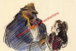 Beauty And The Beast 1991 - Visual Development By Glen Keane - Walt Disney - Autres