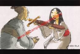 Mulan 1998 - Story Sketch By Chris Sanders And Joseph Mateo - Walt Disney - Autres