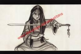 Mulan 1998 - Story Sketch By Dean DeBlois - Walt Disney - Autres