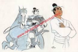 Mulan 1998 - Visual Development By Chen-Ye Chang - Walt Disney - Autres