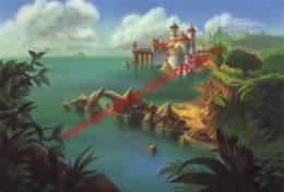 The Little Mermaid 1989 - Background By Disney Studio Artist - Walt Disney - Disney