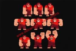 Wreck-It Ralph 2012 - Visual Development By Wayne Unten - Walt Disney - Autres