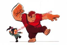 Wreck-It Ralph 2012 - Visual Development By Bill Schwab - Walt Disney - Autres
