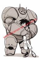 Big Hero 6 - 2014 - Visual Development By Jin Kim - Walt Disney - Autres