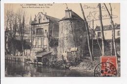 CPA 28 CHARTRES Bords De L'Eure Tour Et Fortifications De La Ville - Chartres