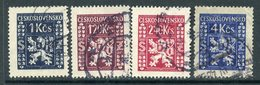 Y85 Czechoslovakia 1947 D.10+ Official Stamps - Coat Of Arms. Heraldry - Timbres