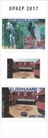 Suriname 2708/09 UPAEP Parc Naturel, Oiseau, Fort Zeelandia - Emissions Communes