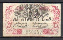 566-Belgique Billets De Brugge Et Ostende - [ 2] 1831-... : Belgian Kingdom