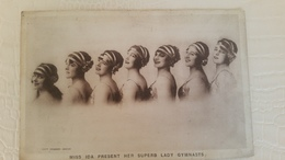 B4/MISS IDA PRESENT HER SUPERB LADY GYMNASTS - Circus