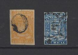 VENEZUELA  YT  N° 1-2  Obl  1859 - Venezuela