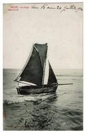 Heyst - Au Large - 1904 - Edit. Albert Sugg Série 3/33 - Bateau - 2 Scans - Heist