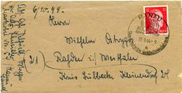 (Lo3170) Brief DR SSt. Hanau N. Rahder 23.9.44 Mit Inhalt - Germania