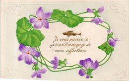 POISSON D'AVRIL (gaufrée) - 1er Avril - Poisson D'avril