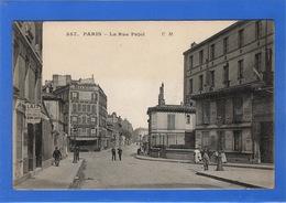75 PARIS - 18ème, La Rue Pajol (voir Descriptif) - Arrondissement: 18