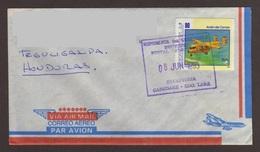 Venezuela, Cover Sent From Cabudare-Tegucigalpa With Stamp Of Airplane (UPAEP), 1995 - Venezuela